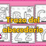Excelente material para reforzar el trazo del abecedario