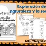 Fabuloso material me divierto y aprendo exploración de la naturaleza y la sociedad primer ciclo de primaria