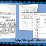 Fabuloso material me divierto y aprendo español primer ciclo de primaria