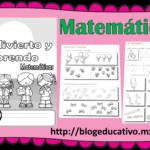 Fabuloso material me divierto y aprendo matemáticas primer ciclo de primaria