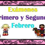Excelentes exámenes del primer y segundo grado del mes de febrero segundo trimestre ciclo escolar 2018 – 2019