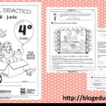 Fabuloso material didáctico del cuarto grado del tercer trimestre ciclo escolar 2018 – 2019 abril – junio