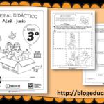 Fabuloso material didáctico del tercer grado del tercer trimestre ciclo escolar 2018 – 2019 abril – junio