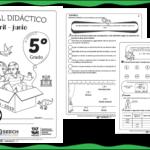 Fabuloso material didáctico del quinto grado del tercer trimestre ciclo escolar 2018 – 2019 abril – junio