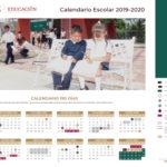 Calendario escolar de  190 días efectivos de clase 2019 – 2020