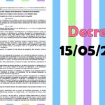 Decreto 15/05/2019 de la nueva reforma educativa