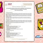 Lista sugerida oficial de útiles escolares de educación básica para el ciclo escolar 2019 – 2020