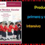 Productos contestados de la primera y segunda sesión de la fase intensiva del consejo técnico escolar 2019 – 2020