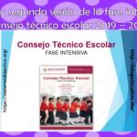 Excelente presentación en PowerPoint de la primera y segunda sesión de la fase intensiva del consejo técnico escolar 2019 – 2020
