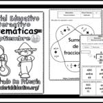 Material interactivo del quinto grado del mes de agosto y septiembre para el ciclo escolar 2019 – 2020 de matemáticas