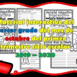 Material interactivo del tercer grado del mes de octubre del primer trimestre ciclo escolar 2019 – 2020