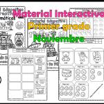 Material interactivo del primer grado del mes de noviembre para el ciclo escolar 2019 – 2020