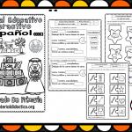 Material interactivo del primer grado del mes de noviembre para el ciclo escolar 2019 – 2020 español