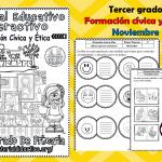 Material interactivo del tercer grado del mes de noviembre para el ciclo escolar 2019 – 2020 Formación cívica y ética