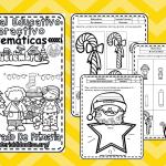 Material interactivo de matemáticas del primer grado del mes de diciembre para el ciclo escolar 2019 – 2020