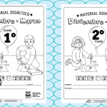 Material didáctico del primer y segundo grado del segundo trimestre de diciembre a marzo del ciclo escolar 2019 – 2020