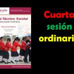 Guía de la cuarta sesión ordinaria del consejo técnico escolar del ciclo escolar 2019 – 2020