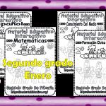 Material interactivo del segundo grado del mes de enero para el ciclo escolar 2019 – 2020