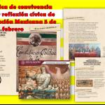 Ficha cívica de convivencia familiar y reflexión cívica de la Constitución Mexicana 5 de febrero