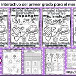 Material interactivo del primer grado para el mes de febrero del ciclo escolar 2019 – 2020