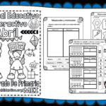 Material interactivo del primer grado para el mes de abril del ciclo escolar 2019 – 2020