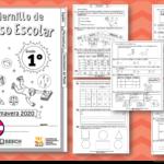 Fabuloso cuadernillo de repaso escolar para el primer grado de primaria primavera 2020