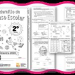 Fabuloso cuadernillo de repaso escolar para el segundo grado de primaria primavera 2020