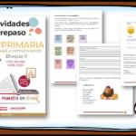 Actividades de repaso escolar para el cuarto grado del ciclo escolar 2019-2020 español