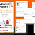 Actividades de repaso escolar para el segundo grado del ciclo escolar 2019-2020 español