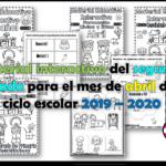 Material interactivo del segundo grado para el mes de abril del ciclo escolar 2019 – 2020