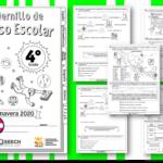 Fabuloso cuadernillo de repaso escolar para el cuarto grado de primaria primavera 2020
