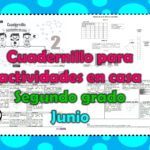 Cuadernillo para actividades en casa del segundo grado para el mes de junio