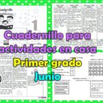 Cuadernillo para actividades en casa del primer grado para el mes de junio