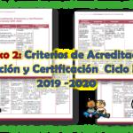 Anexo 2: Criterios de Acreditación, Promoción y Certificación  Ciclo Escolar 2019 -2020
