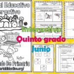 Material interactivo del quinto grado para el mes de junio del ciclo escolar 2019 – 2020