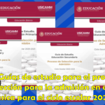 Guías de estudio para el proceso de selección para la admisión en educación básica para el ciclo escolar 2020 – 2021