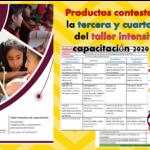 Productos contestados de la tercera y cuarta sesión del taller intensivo de capacitación 2020 – 2021