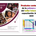 Productos contestados de la primera sesión del taller intensivo de capacitación 2020 – 2021