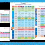 Propuesta de la programación, canales y horarios para el aprendizaje a distancia para el ciclo escolar 2020 – 2021