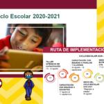 Ruta de  implementación estrategia para el ciclo escolar 2020-2021