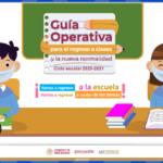 Guía Operativa para el regreso a clases y la nueva normalidad