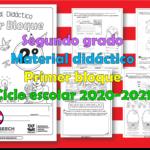 Material didáctico del segundo grado del segundo trimestre para el ciclo escolar 2020 – 2021