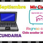 Aprende en casa II mis clases para secundaria del jueves 17 de septiembre del ciclo escolar 2020 – 2021