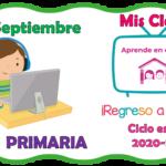 Aprende en casa II mis clases para primaria del martes 29 de septiembre del ciclo escolar 2020 – 2021