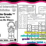 Material interactivo de reforzamiento para el quinto  grado de primaria del ciclo escolar 2020 – 2021