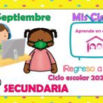 Aprende en casa II mis clases para secundaria del miércoles 30 de septiembre del ciclo escolar 2020 – 2021