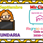 Aprende en casa II mis clases para secundaria del lunes 28 de septiembre del ciclo escolar 2020 – 2021
