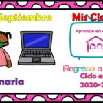 Aprende en casa II mis clases para primaria del lunes 21 de septiembre del ciclo escolar 2020 – 2021