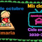 Aprende en casa II mis clases para primaria del 19 de octubre del ciclo escolar 2020 – 2021