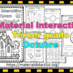 Material interactivo del tercer grado del mes de octubre del ciclo escolar 2020 – 2021